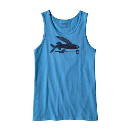 Майка PATAGONIA M'S FLYING FISH COTTON TANK RAD SS17