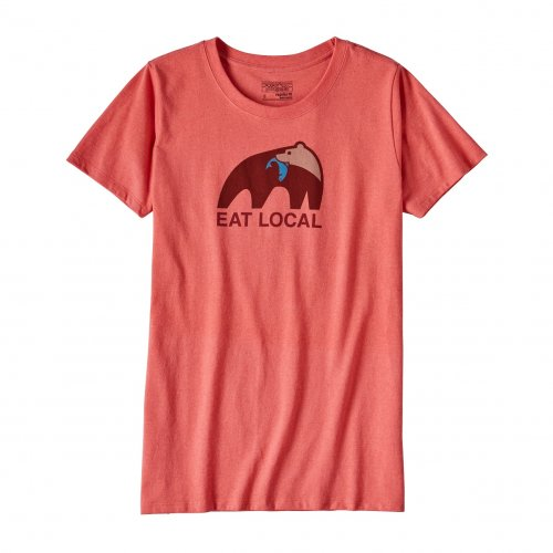 Футболка PATAGONIA W'S EAT LOCAL UPSTREAM COTTON/POLY RESPONSIBILI-TEE SPCL SS17