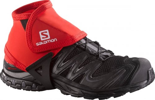 Бахилы SALOMON TRAIL GAITERS LOW уни. SS18 красный M