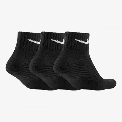 Носки Nike U NK V CUSH ANKLE- 3P VALUE уни. SP19 черный S